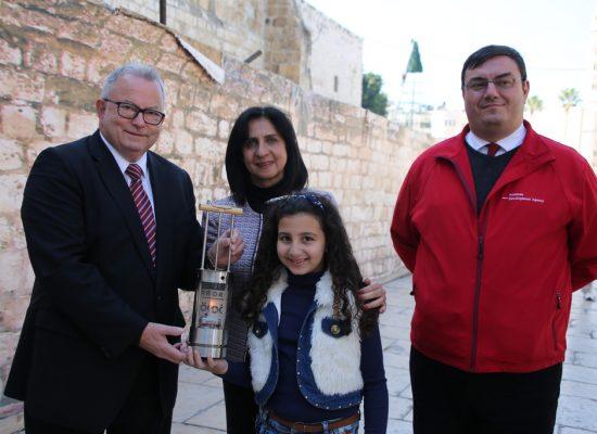 Bethlehem burgemeester Vera Baboun