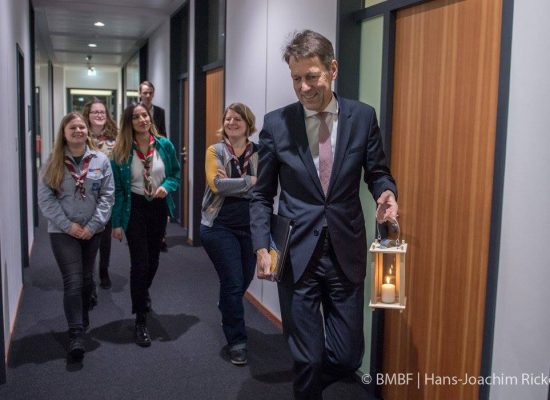 Unterwegs im BMBF mit Staatssekretär Dr. Schütte