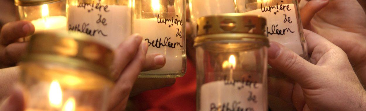 Lumire de BethlŽem - Une dŽlŽgation de Scouts et Guides de France et d'ƒclaireuses et ƒclaireurs Unionistes de France vont ˆ Vienne (A) pour rapporter la Lumire - du 8 au 11/12/05 Temps ˆ Vienne Photo © Jean-Pierre POUTEAU