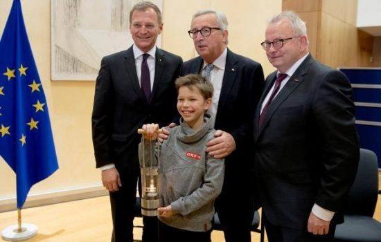 Voormailig Europees president Jean Claude Juncker