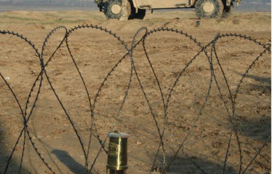 Vredeslicht aangekomen in Afganistan.