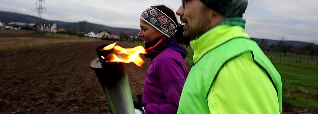 Foto Friedenslichtlauf Deutschland