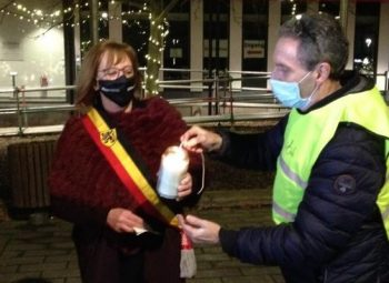 Burgemeester De Pinte  Lieve Van Lancker